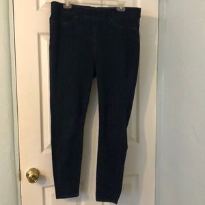 J Crew Pull On Toothpick Jeans Size 32